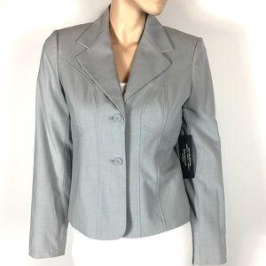 New Worthington Works Blazer Jacket Gray $72